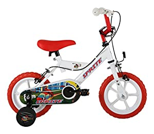 Sonic Kids' Sprite Wheel Bike, White, 12-inch