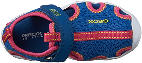 Geox J Wader A, Sandales Fille Bleu (C4042)