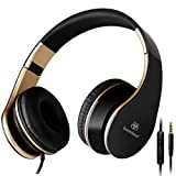 Kopfhörer: Sound Intone I65 faltbarer ON-Ear Kopfhörer, Hifi-Stereo Klanqualität, mit 3,5 mm...