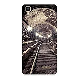 Special Track in Tunnel Back Case Cover for Oppo R7