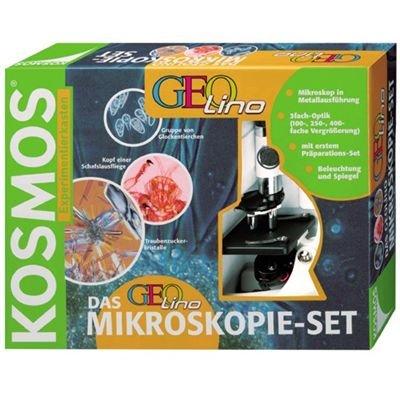Kosmos 636715 – Experimentierkasten, Das Geolino Mikrospkopie-Set