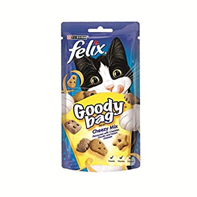 Felix Goody Bag Cat Treat Cheezy Mix