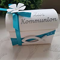 Geschenkverpackung TRUHE Taufe Kommunion/Konfirmation/Firmung/Taufe