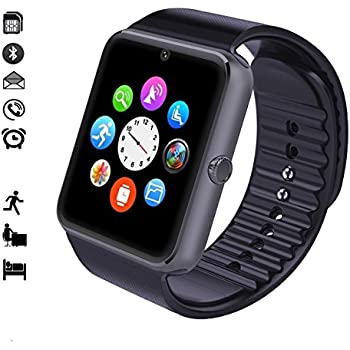 malltek android smartwatch bluetooth mit tf sim. Black Bedroom Furniture Sets. Home Design Ideas