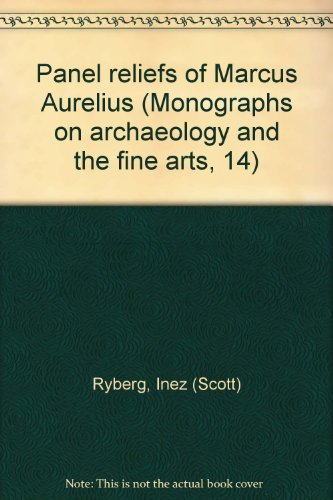 Panel reliefs of Marcus Aurelius (Monographs on archaeology and the fine arts, 14) (Relief Panel)