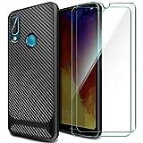 AROYI Coque Huawei Y6 2019+[Lot de 2] Verre trempé Écran Protecteur, Coque Huawei...