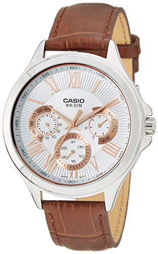 Casio Enticer Men's Analog Silver Dial Men's Watch - MTP-E308L-7AVDF (A1052)