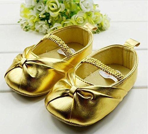 xhorizon ® Niedlich Baby Mädchen Prinzesin Kleinkind Schuhe Y028 Golden