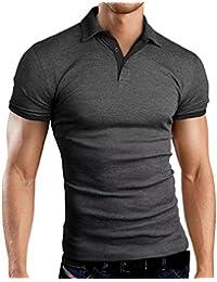 Grin&Bear Slim Fit kontrast Polohemd Poloshirt Polo, GB160