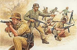 Italeri - I6076 - Maquette - Figurine - Soldats Afrika Korps - Echelle 1:72