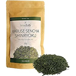 Grüner Tee aus Japan lose/Kabuse Sencha Shinryoku First Flush Kabusecha 100g Refill/Einzigartiger Geschmack & Premium Qualität/Japanischer Grüntee von TeaClub
