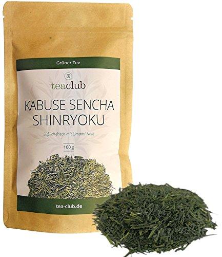 Grüner Tee Lose Japan, Japanischer Sencha Grüntee, Kabusecha Kuckicha, TeaClub