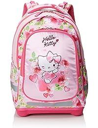 82115f5f76 Target Hello Kitty Mädchen Rucksack Zaino, 44 cm, Rosa (Rosa/Weiß/