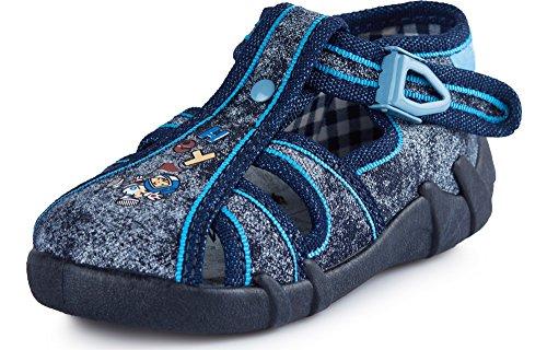 Ladeheid pantofole scarpine bambino e bambina larb003 (jeans, 25 eu)