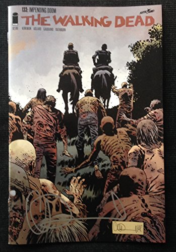 IMAGE COMICS THE WALKING DEAD #133 SIGNED BY CHARLIE ADLARD WITH COA