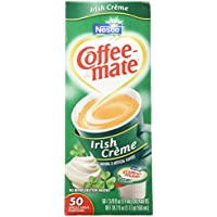 Coffee-Mate Irish Creme Liquid Creamer 50 Single Serve 3/8 FL OZ