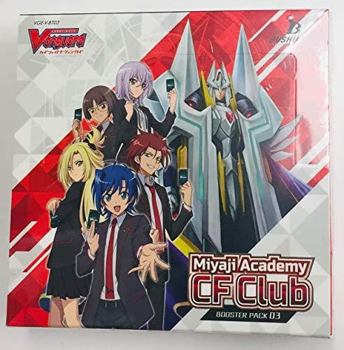 EN Cardfight Vanguard V-Miyaji Academy CF Club Booster Packs, 16 Stück ()