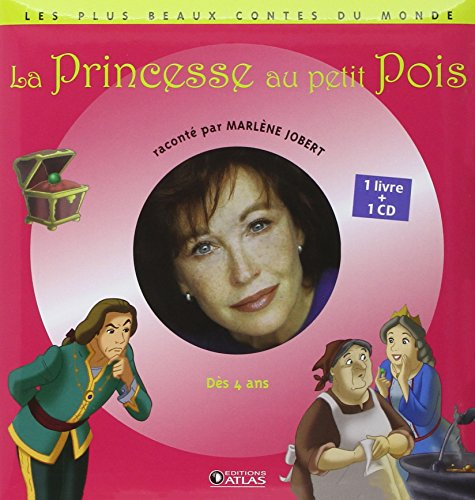 La Princesse au petit Pois (1CD audio) par Marlène Jobert