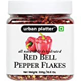Urban Platter Red Bell Pepper Flakes, 300g [All Natural & Dehydrated]