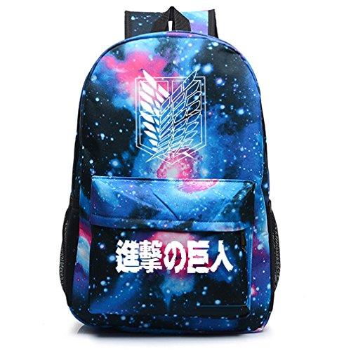 yoyoshome Anime Angriff auf Titan Cosplay Luminous Schultasche College Rucksack Schultasche Luminous 5