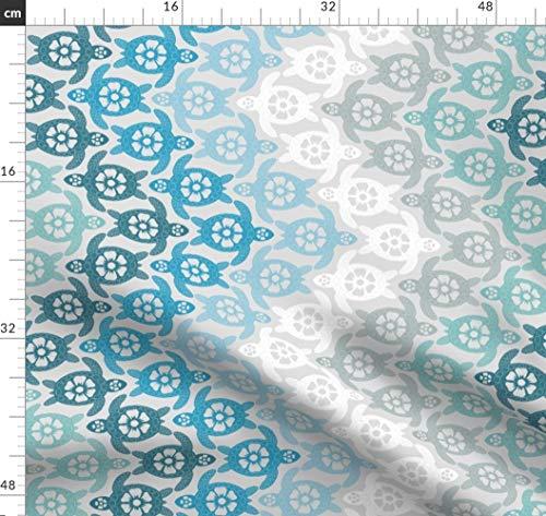 n, Chevron Stoffe - Individuell Bedruckt von Spoonflower - Design von Coloroncloth Gedruckt auf Leinen Baumwoll Canvas ()