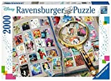 Ravensburger © Disney © Disney/Pixar © Disney. Based on The   'Winnie The Pooh' Works by  A. A. Milne and E. H. Shepard.16706 Meine liebsten Briefmarken - 2000 Teile