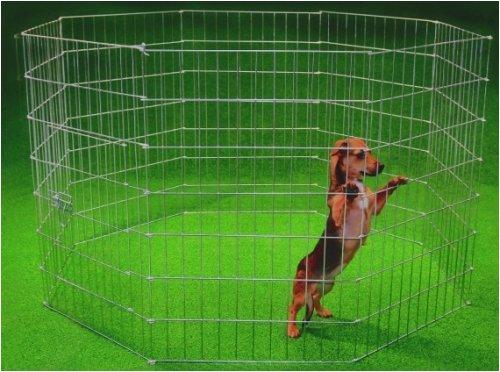 Trixie Cerramiento Cachorros galvaniz, 8 Paneles 61x91 cm