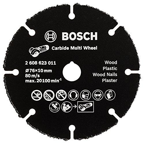 Bosch Professional Trennscheibe Multi Wheel (für Winkelschleifer, Scheibendurchmesser 76 mm)