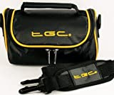 TGC Kameratasche für Panasonic PalmCam pv-dc2590mit Schultergurt und Tragegriff