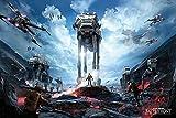 Pirámide Internacional Zona de Guerra Póster de Star Wars...