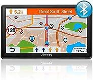 Bluetooth Navi Navigationsgerät für Auto LKW GPS Navigation 7 Zoll 16GB Lebenslang Kostenloses Kartenupdate mi