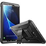 SUPCASE [Heavy Duty] [Unicorn Beetle PRO Series] Full-body Rugged Protective Case Cover For Samsung Galaxy Tab A 10.1 Inch Built-in Screen Protector (Black/Black)