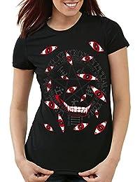 style3 Hellsing Eyes T-Shirt Femme yeux vampire anime manga