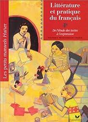 Littérature et pratique du français 4ème. De l'étude des textes à l'expression, Elève