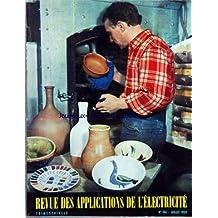 REVUE DES APPLICATIONS DE L'ELECTRICITE [No 186] du 01/07/1959 - ELECTRICITE PAR M. FLOURET - LE GENERAL H. ZELLER - M. BUDKIEWICZ - RENE LEOUFFRE - C. ROY-POCHON - P. ROULOT - L. JUG - M.E. BORNEQUE - GUY BATALLA