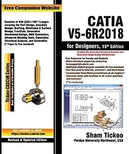 CATIA V5-6R2018 for Designers, 16th Edition (English Edition ...