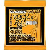 Ernie Ball 2252 Classic Pure Nickel Hybrid Slinky Electric Guitar Strings