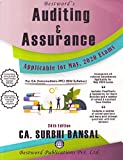 Bestword Auditing & Assurance of 24th Edition for CA (Intermediate-IPC) (Old Syllabus) Applicable for May 2020 Exam