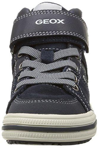 Geox Elvis D, Mädchen Hohe Sneakers Blau (c0661)