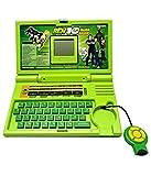 #5: PLAY DESIGN Ben 10 English Learner Laptop for Kids 20 Activities (Green)