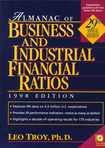 Almanac of Business and Industrial Financial Ratios: 1998 : 29th Annual Edition