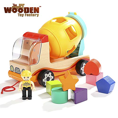 The Wooden Toy Factory - Shape Sorting Truck, Essential baby toys, toys for every developmental stage, baby toys, must have baby toys, the best toys for babies, gift ideas for babies, Christmas baby gift ideas, gifts for babies