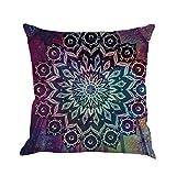 Winwintom Geometría pintura lino funda de Cojin almohada caso sofa (Color B)