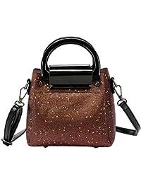 Vodool Shining Sequin Women Messenger Top Handle Bag Small Crossbody Shoulder Bags
