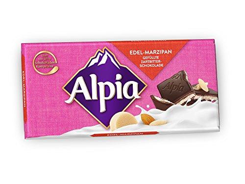 Alpia Schokolade Edel Marzipan, 100 g