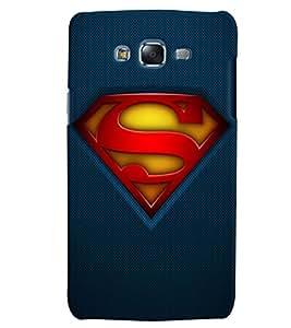 Citydreamz Superman Logo Hard Polycarbonate Designer Back Case Cover For Samsung Galaxy J7