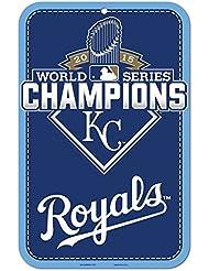 Wincraft Tapis Motif Royals de Kansas City 2015MLB World Series Champions Plaque