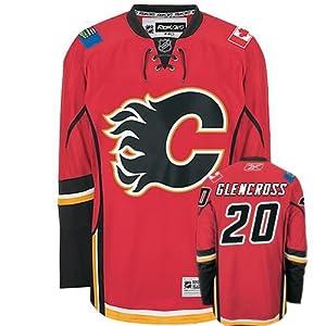 NHL Eishockey Trikot/Jersey CALGARY FLAMES Curtis Glencross in XXL (2XL)