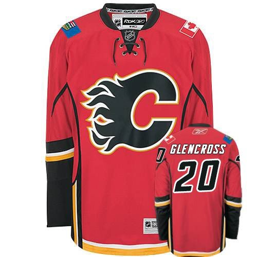 NHL Eishockey Trikot/Jersey CALGARY FLAMES Curtis Glencross in XXL (2XL)