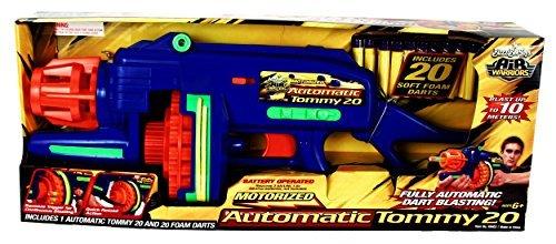 BuzzBee Air Dart Blaster Tommy20, mehrfarbig, 49403